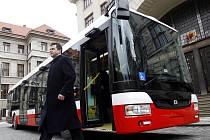 SOR NB 12 - nový autobus pro Prahu.