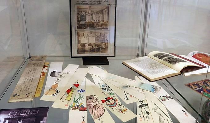 Poslechněte si v Náprstkově muzeu povídání o osudech cestovatele, spisovatele a sběratele umění Joe Hlouchy.