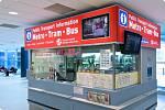 Infocentrum na letišti V. Havla.