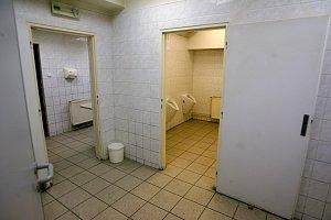 Veřejné toalety na stanici metra Florenc. Ilustrační foto.