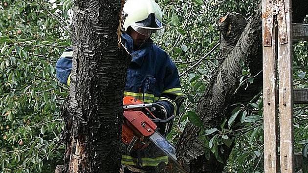 V AKCI. Chodovští hasiči působí hlavně na Jižním Městě.