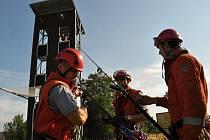 Užívat ve čtvrtek 3. září 2015 začali pražští hasiči novou cvičnou věž, která byla vybudována v areálu hasičské stanice v Modřanech.