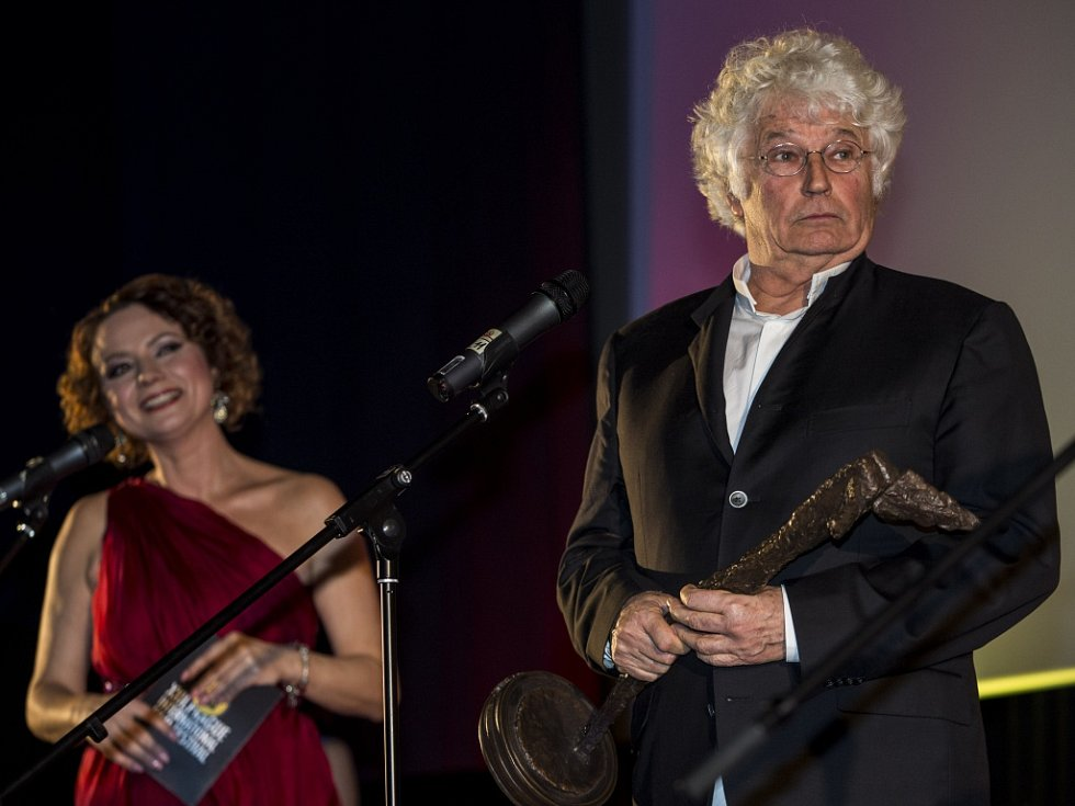 Ze zahájení 22. ročníku Mezinárodního filmového festivalu Praha - Febiofest. Na snímku francouzský oscarový režisér Jean-Jacques Annaud.