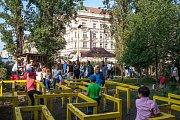 Farmářské slavnosti pro rodiny s dětmi v prostorách Národního zemědělského muzea v Praze na Letné.