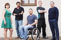 Srdcerváči 2016: Martina Veverková, Marcel Hash, Daniel Kafka, Stanislav Vajda a Jiří Vaňásek