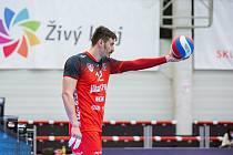 Ukrajinský blokař Valerij Todua je čerstvou posilou volejbalových Lvů Praha.