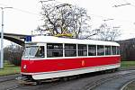 Dopravní podnik hlavního města (DPP) vypravil opět na linku č. 2 vůz z roku 1952 s označením T1 ev. č. 5002.