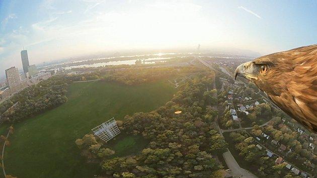 Vídeň z orlí perspektivy.