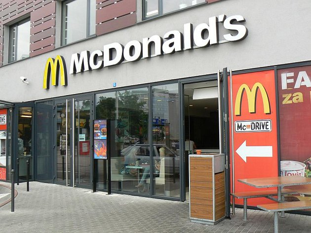 Restaurace Mc Donald´s u Slavie