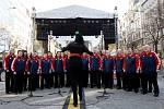 V centru Prahy slavili 17. března Irové svátek sv. Patrika.
