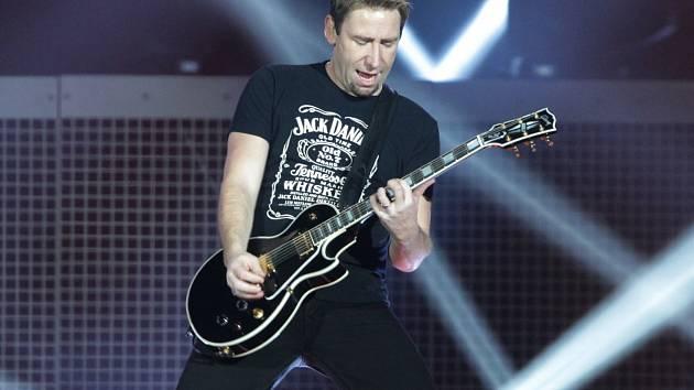 Koncert kapely Nickelback v O2 aréně 7. listopadu