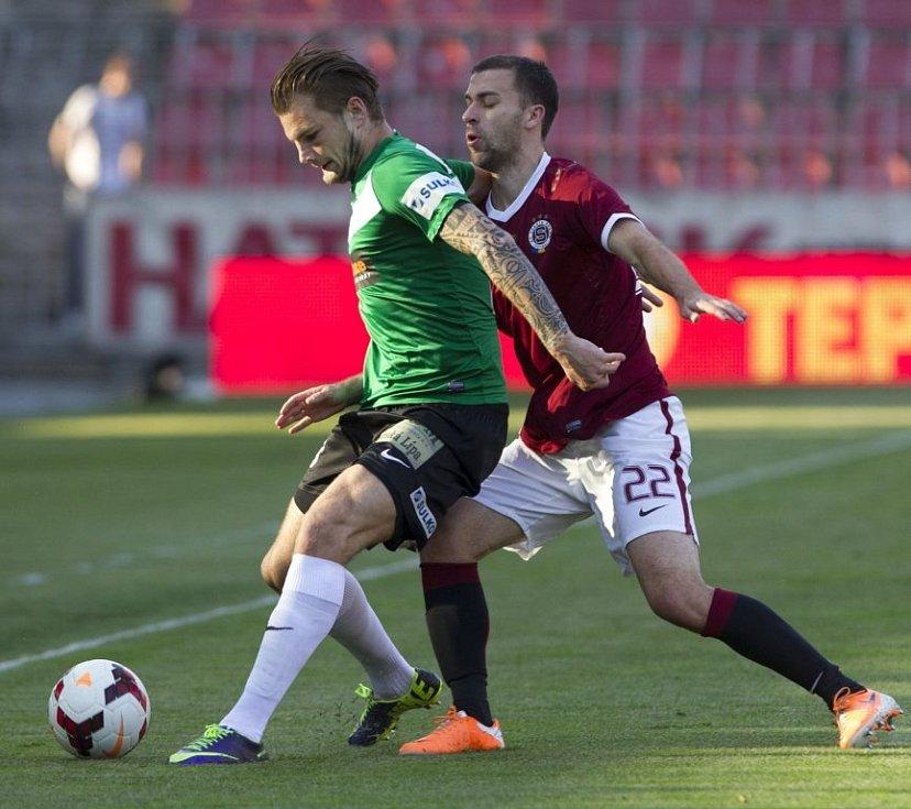 Semifinále fotbalového Poháru České pošty - odveta: Sparta Praha - Baumit Jablonec 4:0 (2:0).