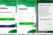 Přihlásit se do aplikace Lítačka lze různými způsoby.