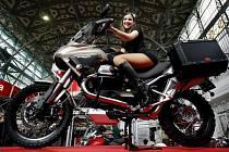 Na holešovickém Výstavišti začal třináctý ročník veletrhu Motocykl.
