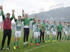 Hráči Bohemians Praha.