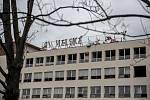 Bourání Michelských pekáren v Praze.