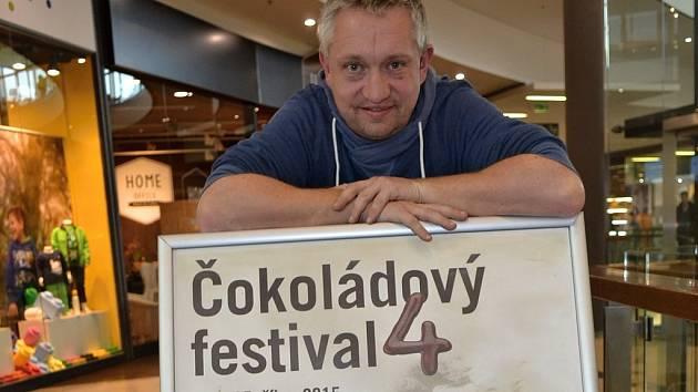 Chris Delattre, organizátor Čokoládového festivalu v České republice.
