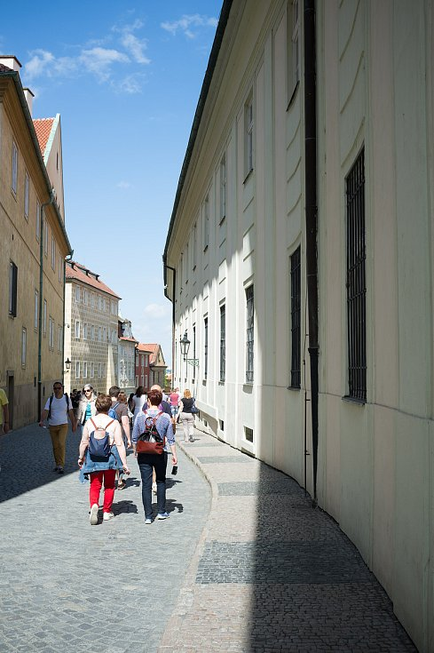 Praha neznámá, Pražský hrad, palác pánů z Rožmberka, 26.5.2017
