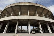 Stadion v Praze na Strahově.