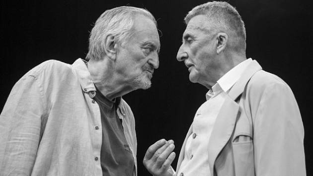 Starí majstri. Milan Lasica a Martin Huba.
