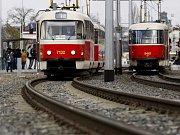 Tramvajová trať. Ilustrační foto.