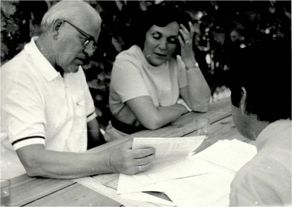 Eva Smolková s profesorem Keulemansem.