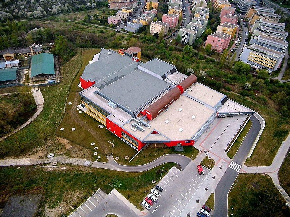Aqucentrum Šutka. Z ptačí perspektivy.