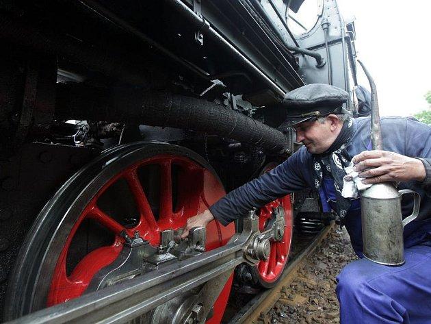 Den železnice na nádraží Praha-Braník