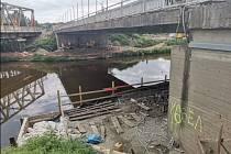 Modernizace mostů přes kanál Troja - Podbaba.