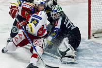 TAHOUN. Slávistický forvard Roman Červenka si svojí formou říká o olympijskou nominaci, zatím má prsty v každém druhém gólu sešívaných.