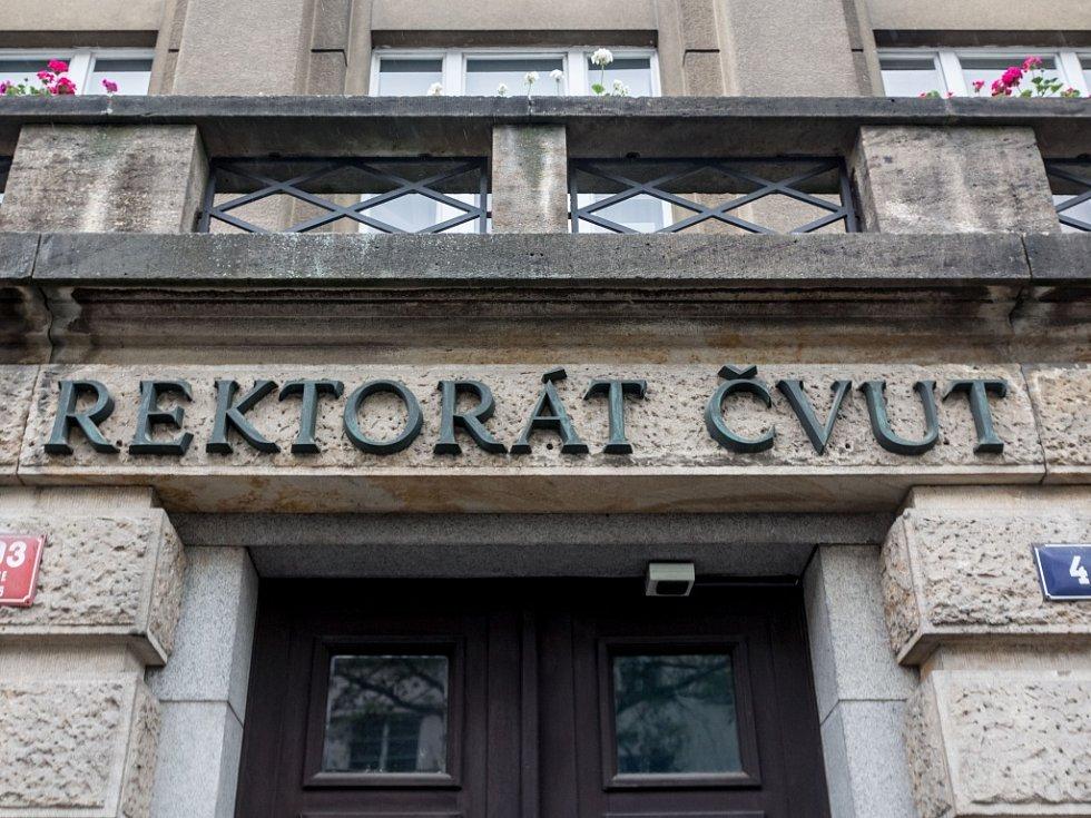 Rektorát ČVUT. Ilustrační foto.