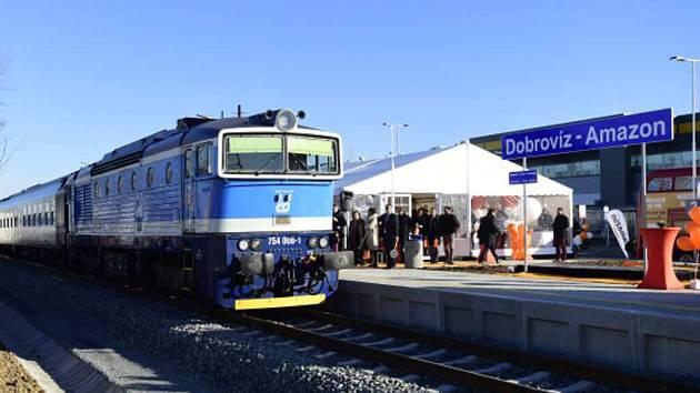 Železniční stanice Dobrovíz - Amazon.
