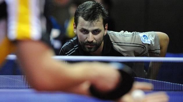 El Niňo, obhájce domácího titulu a finalista evropské superligy, nakonec zvítězil. Na snímku jedna z opor týmu Josef Šimončík.