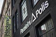 Paralelní Polis v pražských Holešovicích.