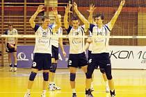 Volejbalisté ČZU prohráli s Českými Budějovicemi 1:3.