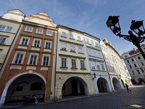 Radniční domy na Malém náměstí v Praze