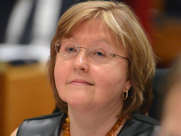 Radní Jana Plamínková.