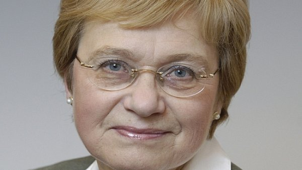 Končící senátorka za Prahu 8Alena Palečková