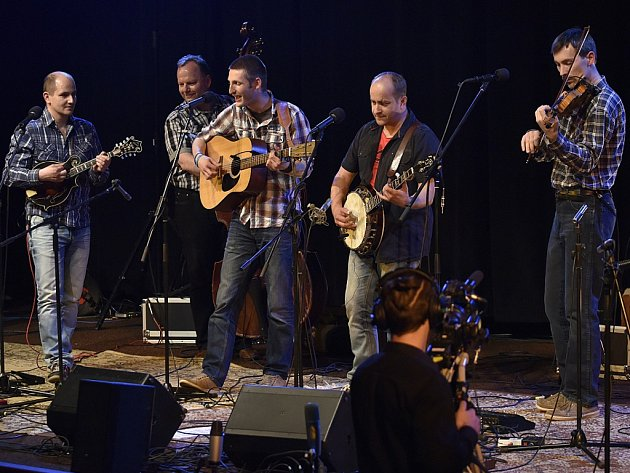 Bluegrassová kapela Monogram.