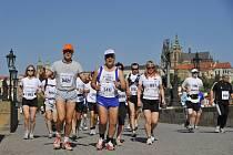 Maraton v Praze.