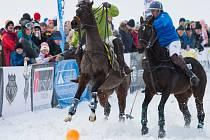 Z programu Czech Snow Polo Masters 2016 ve Špindlerově Mlýně.