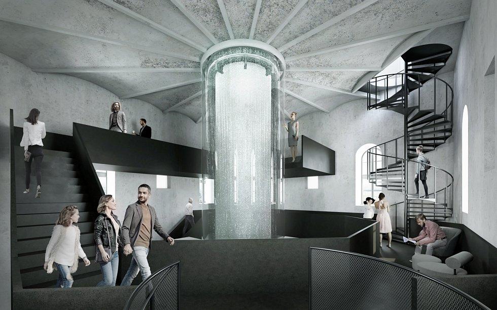 Ve Vinohradské vodárně vznikne vodárenské osvětové centrum Hydropolis Praha.