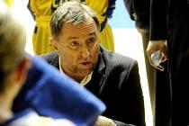 Hlavní trenér USK Lubor Blažek.