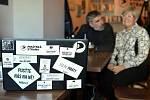 Pirátský volební štáb kandidátů do Senátu.