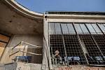 Novináři měli 7. listopadu možnost prohlédnout si prostory rekonstruovaných Barrandovských teras v Praze.
