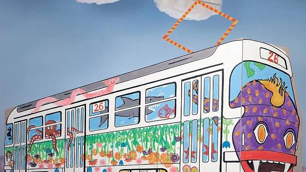 Školáci z druhého stupně základních škol a víceletých gymnázií budou soutěžit v návrhu na pomalování tramvaje