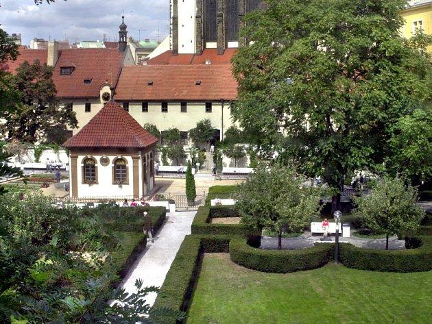 Františkánská zahrada.