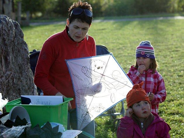 Drakiáda pro malé i velké v Letňanském lesoparku 4. října.