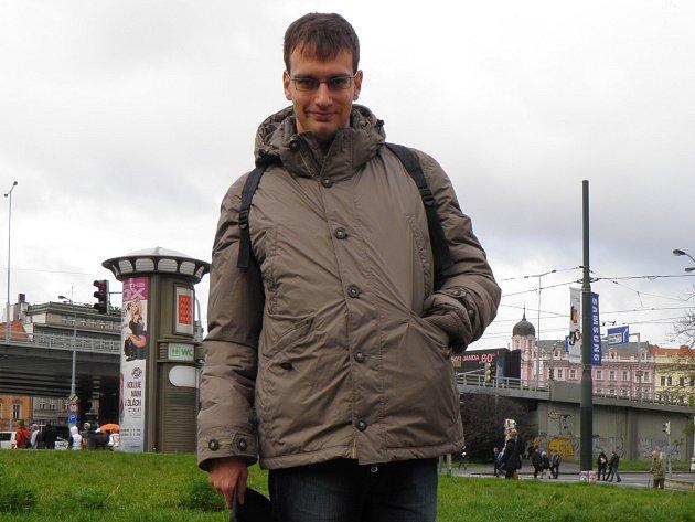 Jiří Panenka, klient projektu Vzdělávání a mobilita v Praze