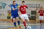 Druhý finálový zápas play off CHANCE futsal ligy vyhrála Slavia doma nad Chrudimí 6:3.